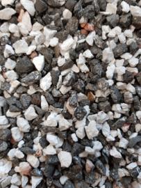 Aquarium grind split mix grijs ± 1kg