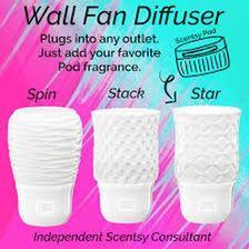 Wand ventilator diffuser  Stack