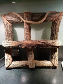 houten raampje