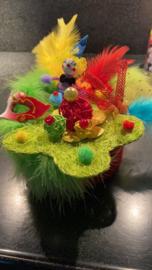carnavals taartje maken