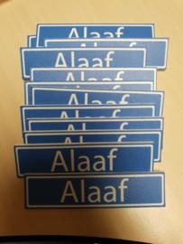 Alaaf plaatje  Mini