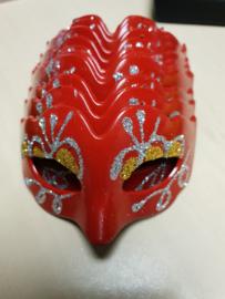 Mini masker rood