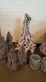 kerstboompje van takken