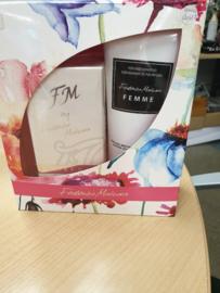 FM dames parfum + douchegel
