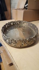 metalen bewerkt dienblad