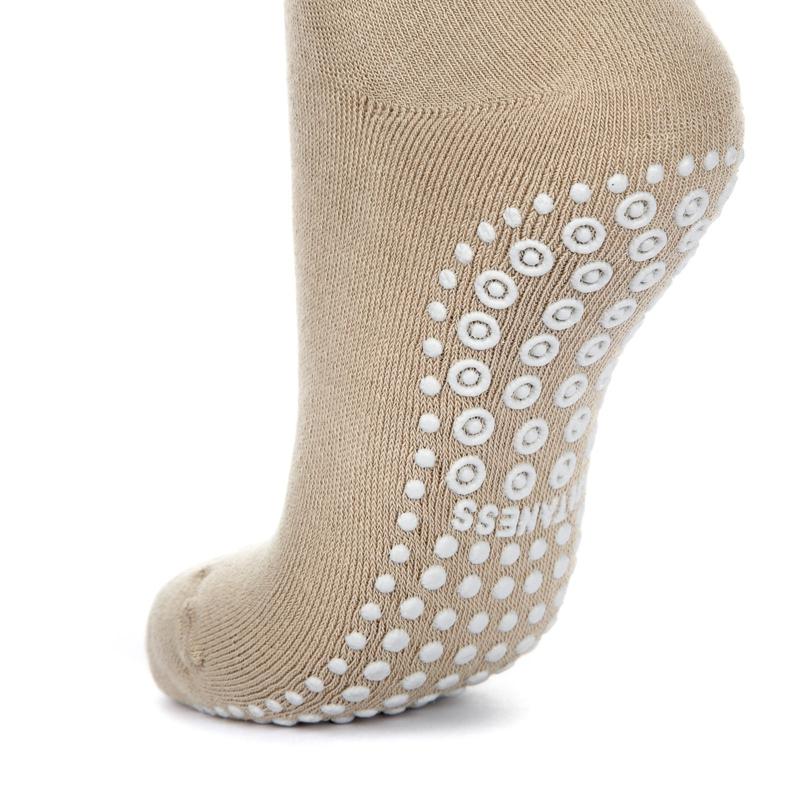 antislip sokken beige