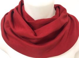 Dieprode sjaal