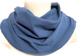 Indigo blauw kwijlsjaal