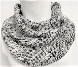 Stoer sjaal met ankers