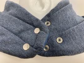 Softblauw sjaal
