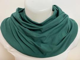 Flesgroen sjaal voor speekselverlies
