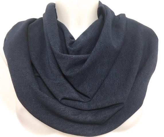 Sjaal in denimlook