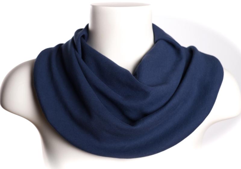 Sjaal voor vochtopname in marine blauw