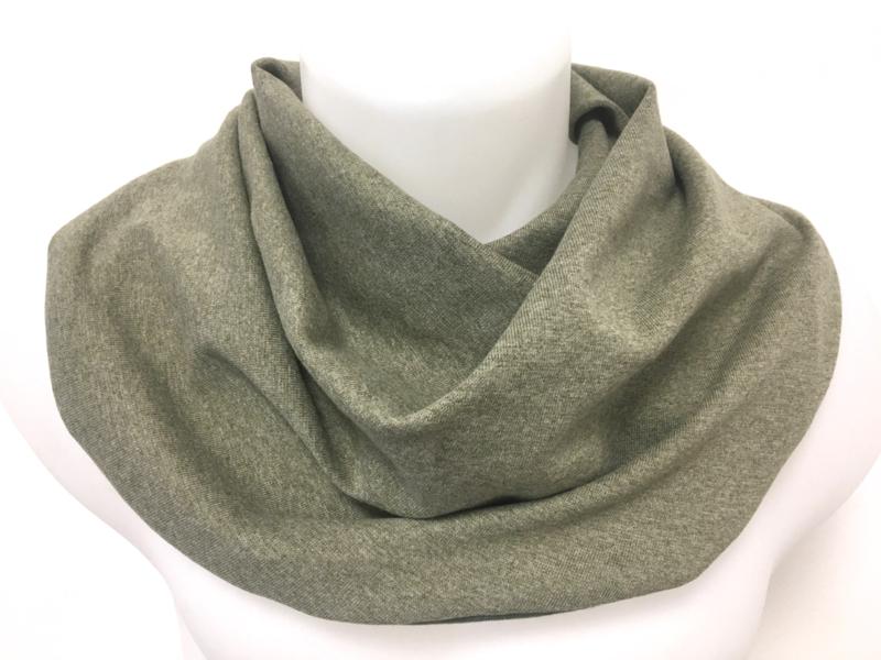 Olijfgroen sjaal