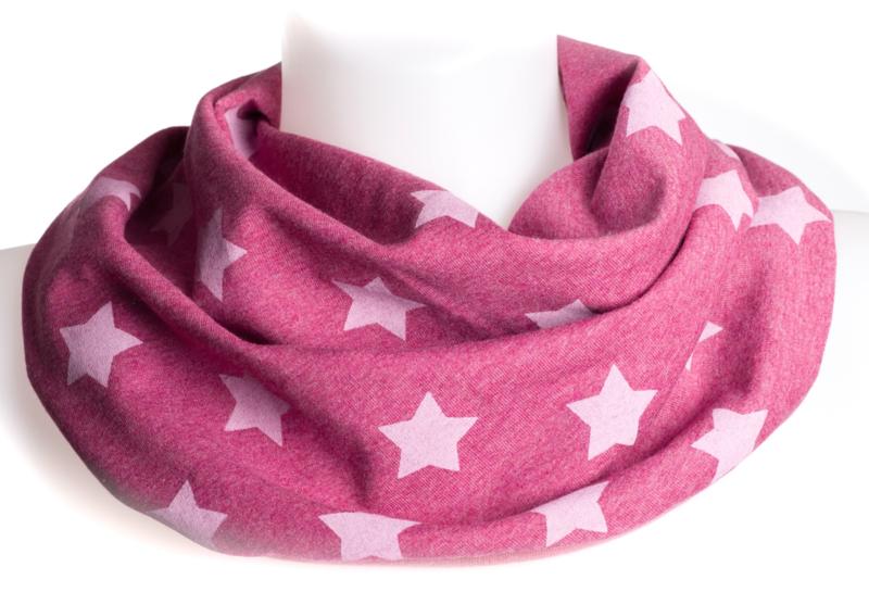 Roze kwijslab met sterren