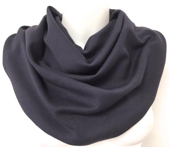 Antraciet paars sjaal