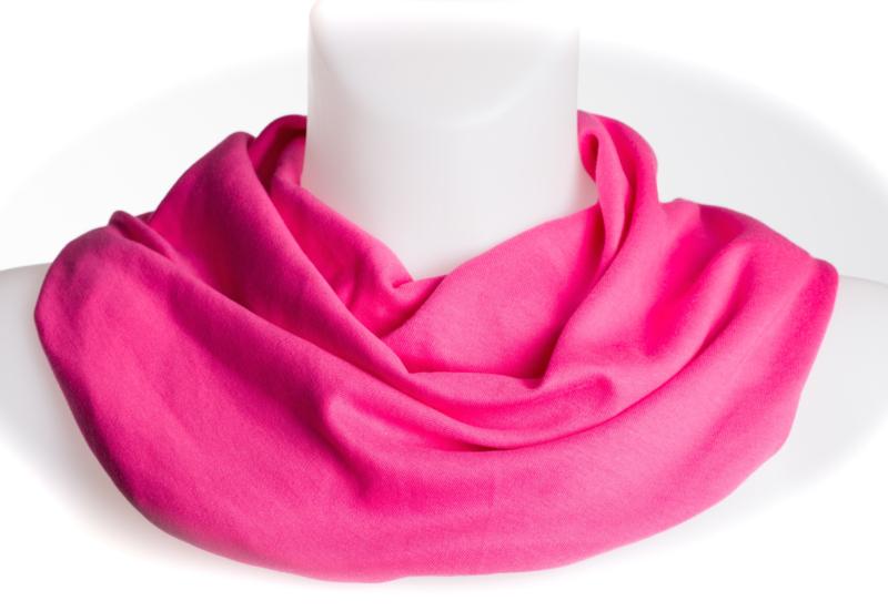 Pink sjaal voor vochtopname