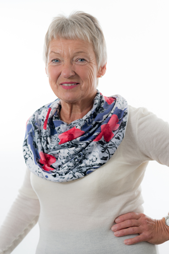 Sjaal voor volwassene met slikproblemen