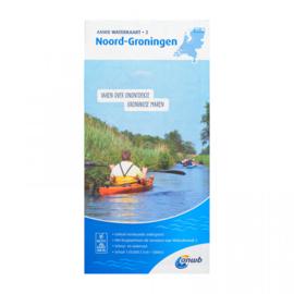 ANWB Waterkaart Noord-Groningen 2 (2020)