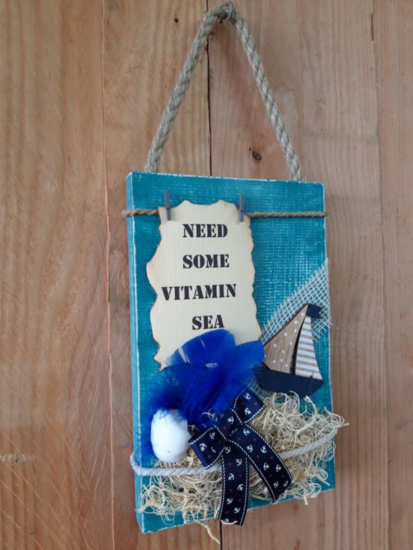 Fotobord 'Need some vitamin sea'