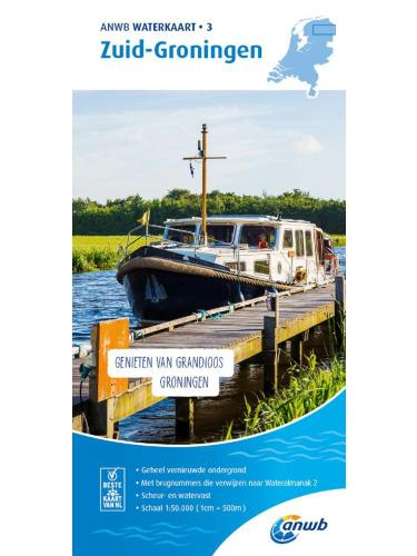 ANWB Waterkaart Zuid-Groningen 3 (2020)