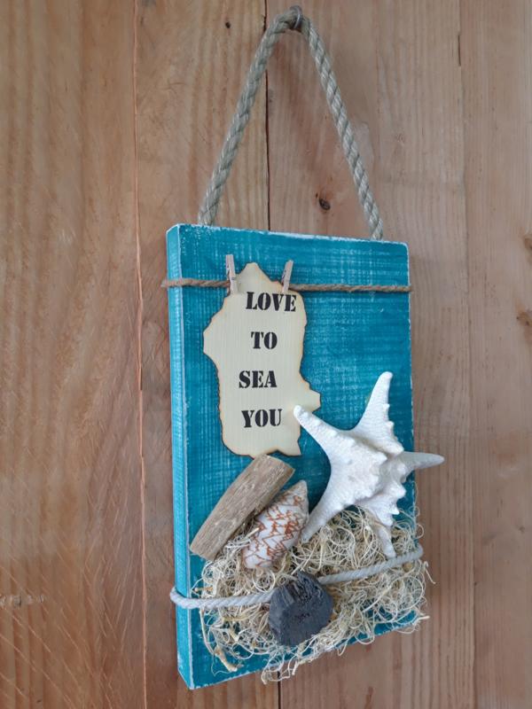 Fotobord 'Love to sea you'