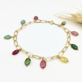 Toermalijn armband - Rainbow bracelet 148