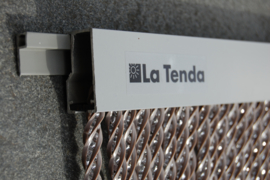 Pro BELLANO 2 90x210cm taupe-transparant