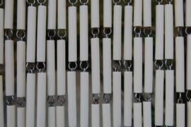 CAMPOS 1 90x210cm blanc ivoire