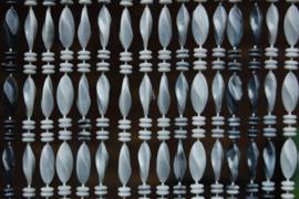 GENOA 2 90x210cm camaïeu de gris marbré