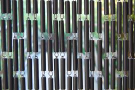 CAMPOS 2 90x210cm gris anthracite