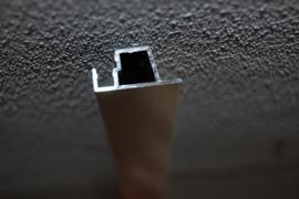 G- Plafondprofiel voor La Tenda deurgordijn breedte 90cm