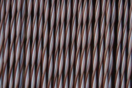 PADOVA 2 90x210cm bruin-wit