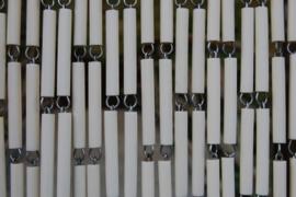 CAMPOS 1 120x230cm blanc ivoire