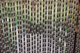 LAZIO 1 120x230cm transparant-zwart