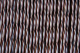 PADOVA 2 120x230cm brun métalisé-blanc