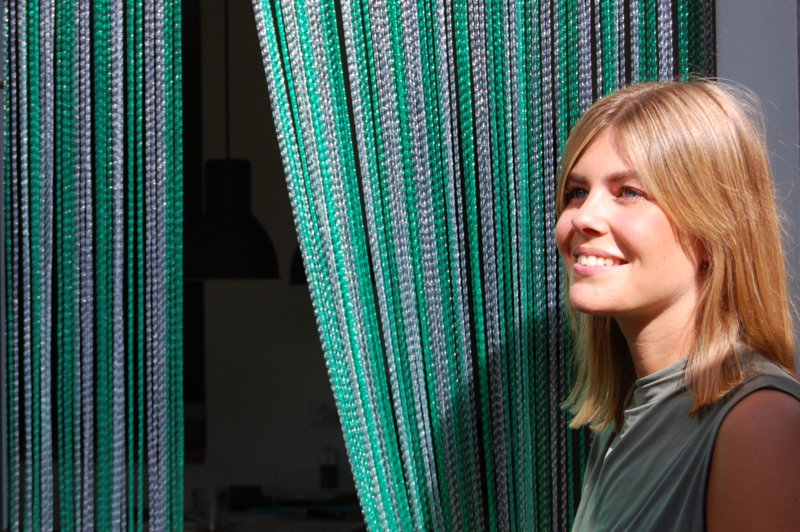 RIMINI 2 100x230cm vert-transparent