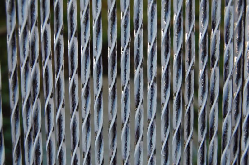 ASCONA 2 100x230cm zwart-wit