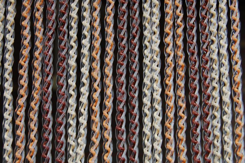 AREZZO 2 100x230cm bruin-creme-oranjebruin