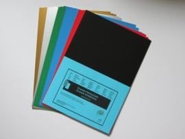 Encaustic gekleurd papier A4 Assorti