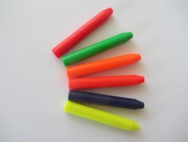 Wachsfarben Neon Farben unverpackt