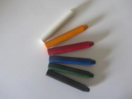 Kleurenset Basis kleuren 6 Stuks verpakt