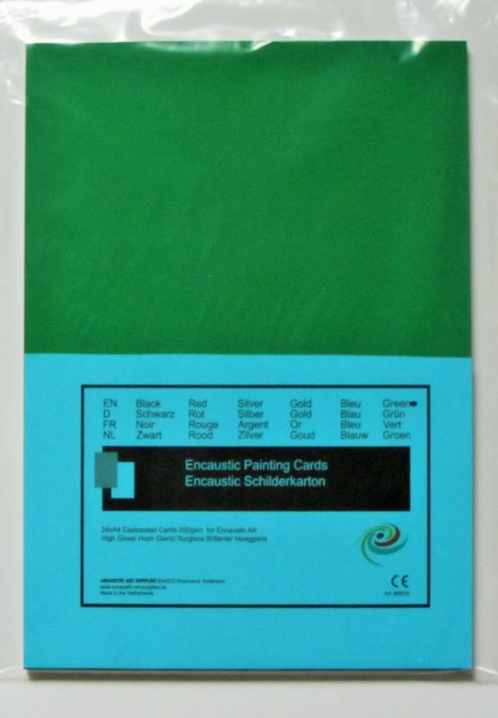 Enkaustic-Malkarton 12 Stk. A4