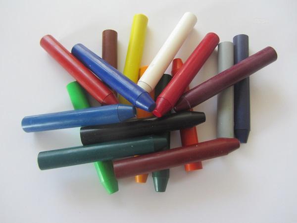 Encaustic Wasstaafjes Los per 6 stuks ( 36 Basis kleuren)