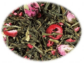 Groene thee Sencha Cranberry Framboos