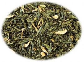 Groene thee Sencha Sinaasappel