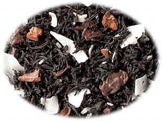 Zwarte thee Chocolade Kokosnoot