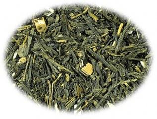 Groene thee Sencha Amandel Caramel