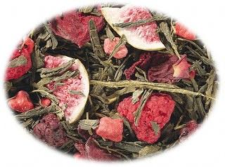 Groene thee Sencha Vijg Bes