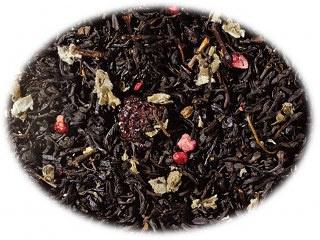 Zwarte thee Bosvruchten